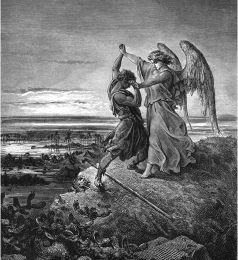 Gustave-Dore_-Jacob-wrestling-with-angel-476x520
